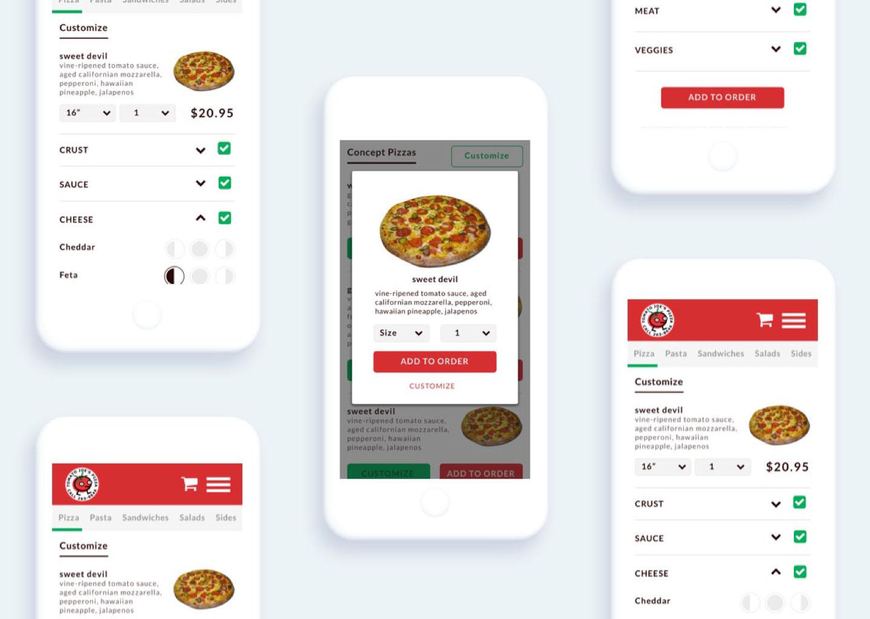 Mobile Responsive Restaurant Web Design