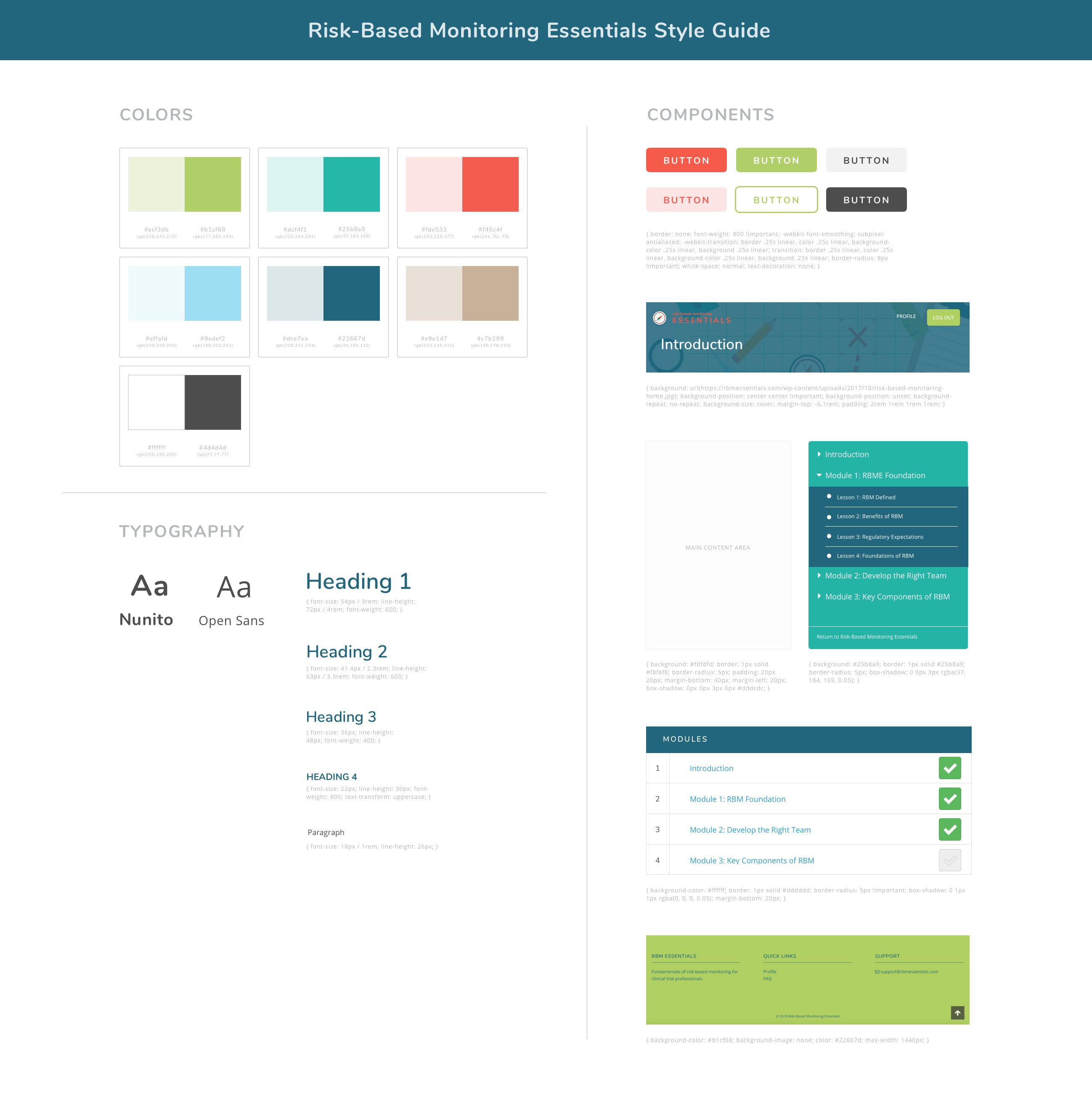 Online Course Design System