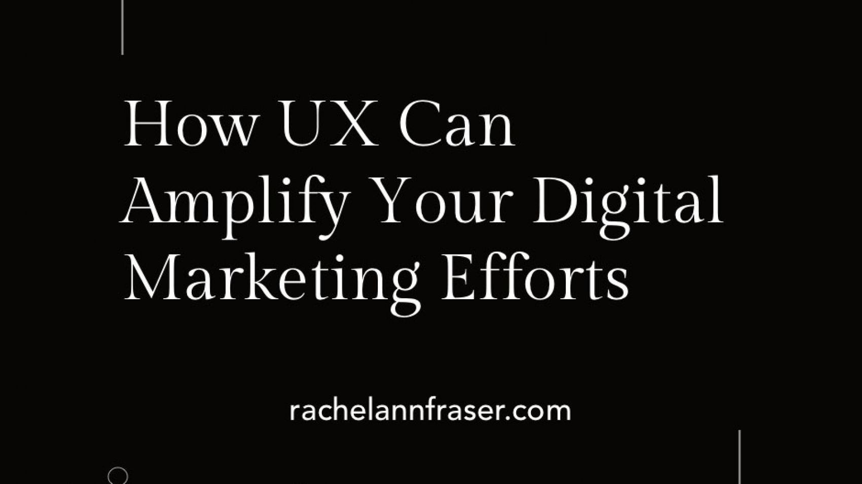 UX Working With Marketing