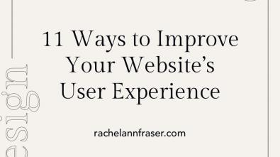 Improve Your Website's UX