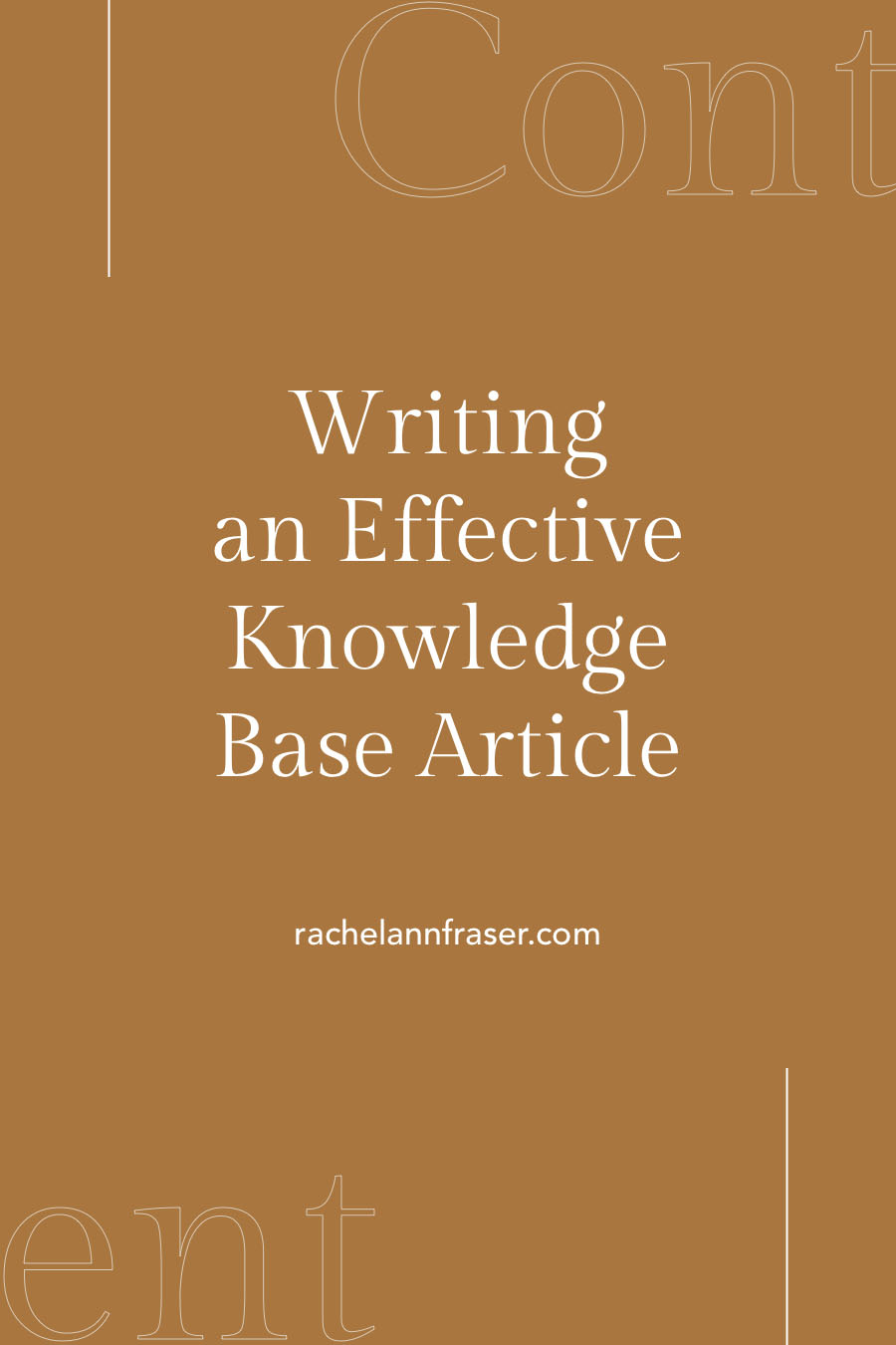 Writing an Effective Knowledge Base Article